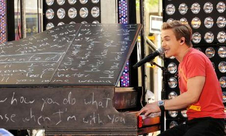 """Hunter Hayes performs on NBC's """"Today"""" at the NBC's TODAY Show on June 21, 2013 in New York, New York. Photo: WireImage / 2013 Desiree Navarro"""