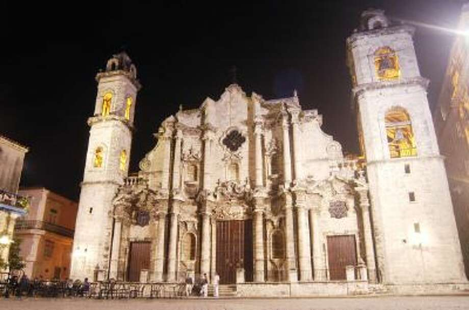 A Catholic Cathedral stands in Havana, Cuba. Photo: Getty Images / 2002 Getty Images