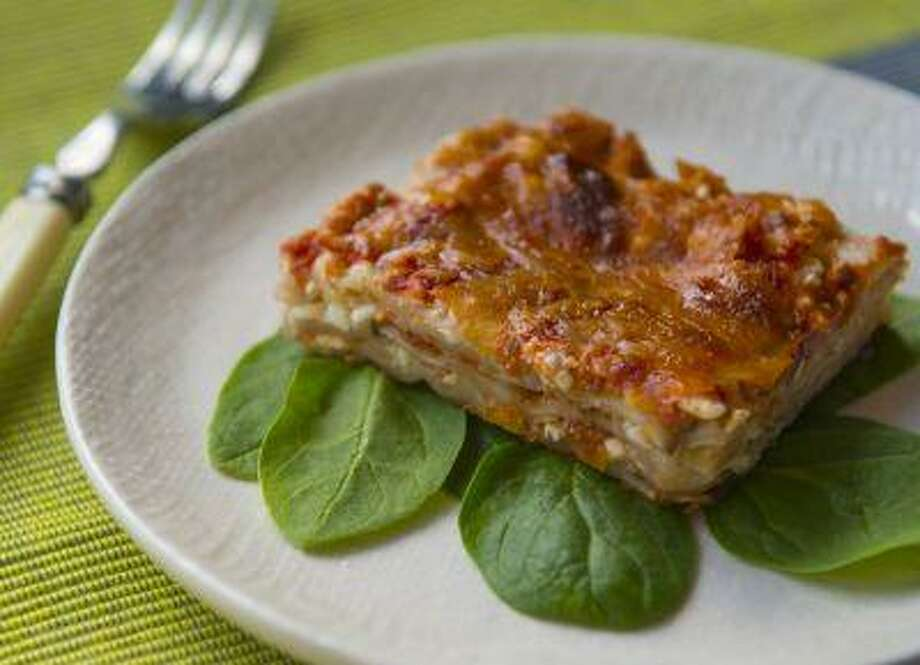 Matzo Lasagna. This is a simple, kosher-for-Passover version of the classic Italian recipe. Photo: The Washington Post / WASHINGTON POST
