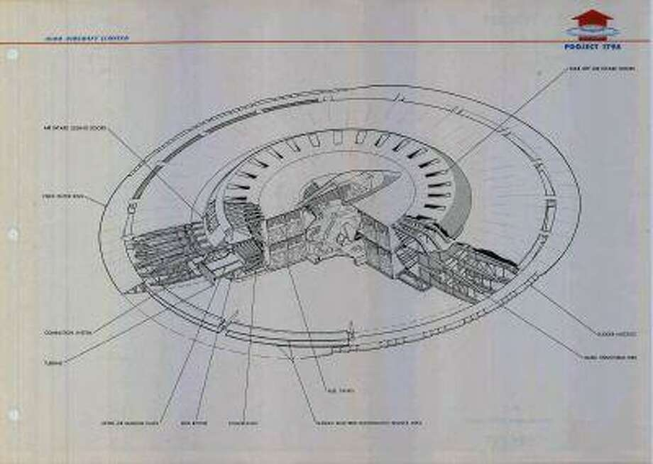 The government tested a flying saucer in 1956. Photo: SLATE / SLATE