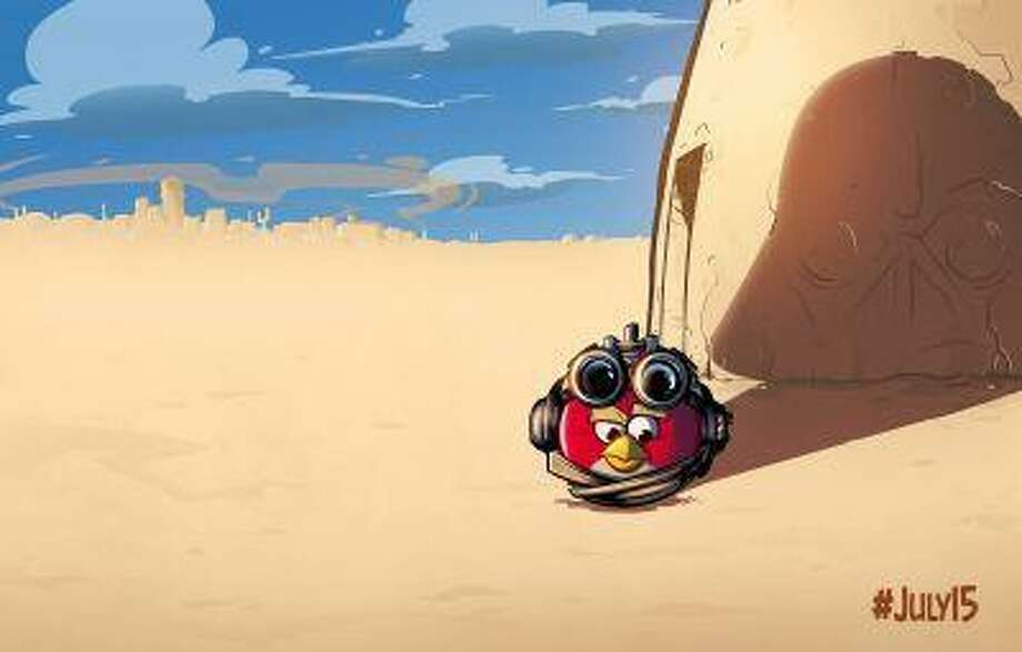 """Teaser image for a new """"Angry Birds Star Wars"""" game (Rovio)"""