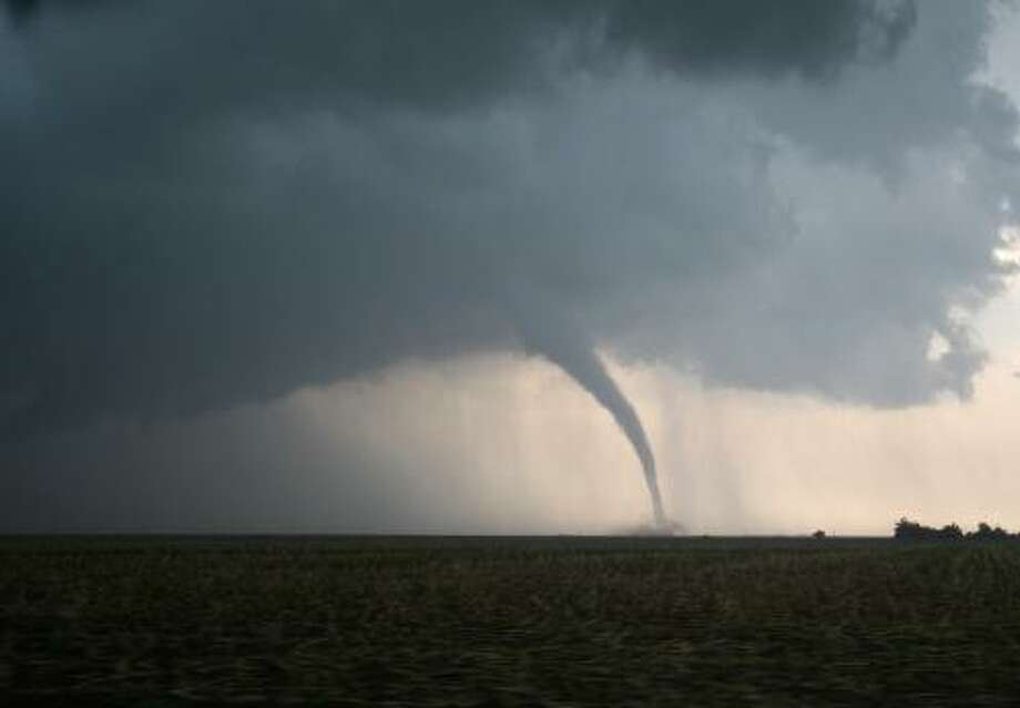 Dangerous Tornado on the Plains Photo: Getty Images/iStockphoto / iStockphoto