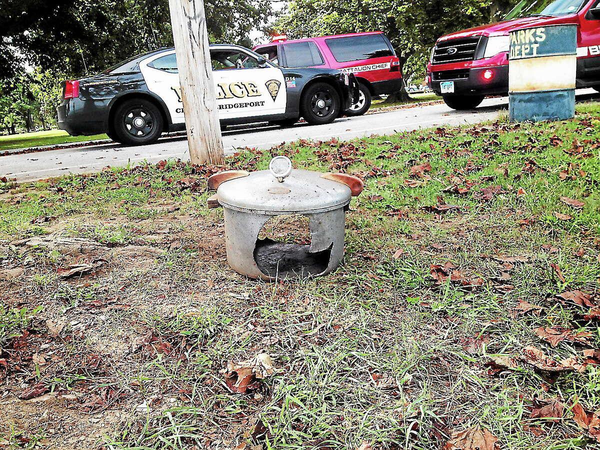 Pressure cooker left unattended in Bridgeport