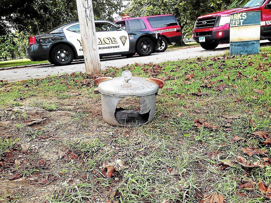 Pressure cooker left unattended in Bridgeport Photo: Journal Register Co.