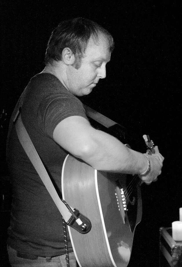 "New Haven-- James McCartney, son of Paul McCartney, plays for a sold out crowd at Cafe 9 in New Haven Tuesday night.  Photo-Peter Casolino/Register <a href=""mailto:pcasolino@newhavenregister.com"">pcasolino@newhavenregister.com</a>"