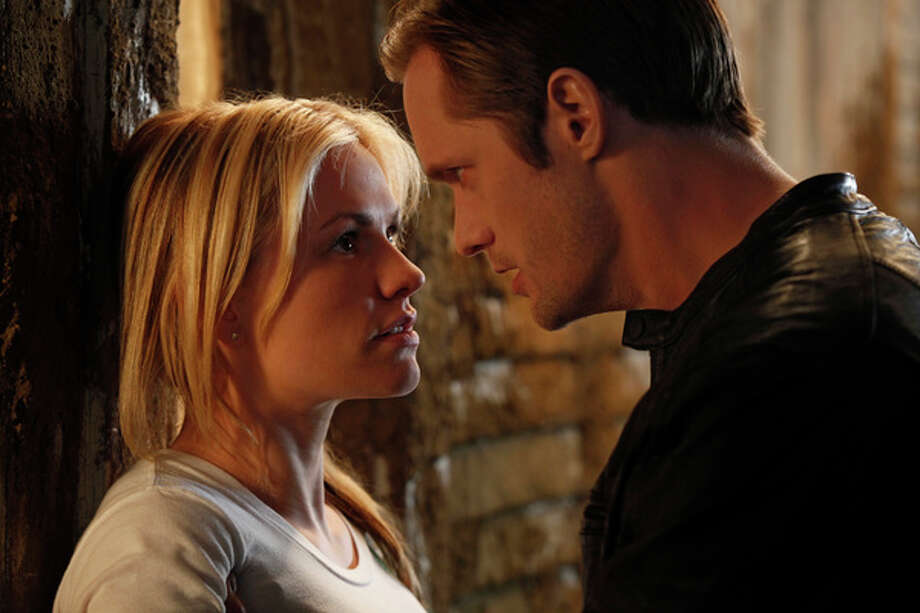 TRUE BLOOD: Anna Paquin, Alexander Skarsgard. Photo: John P. Johnson / na