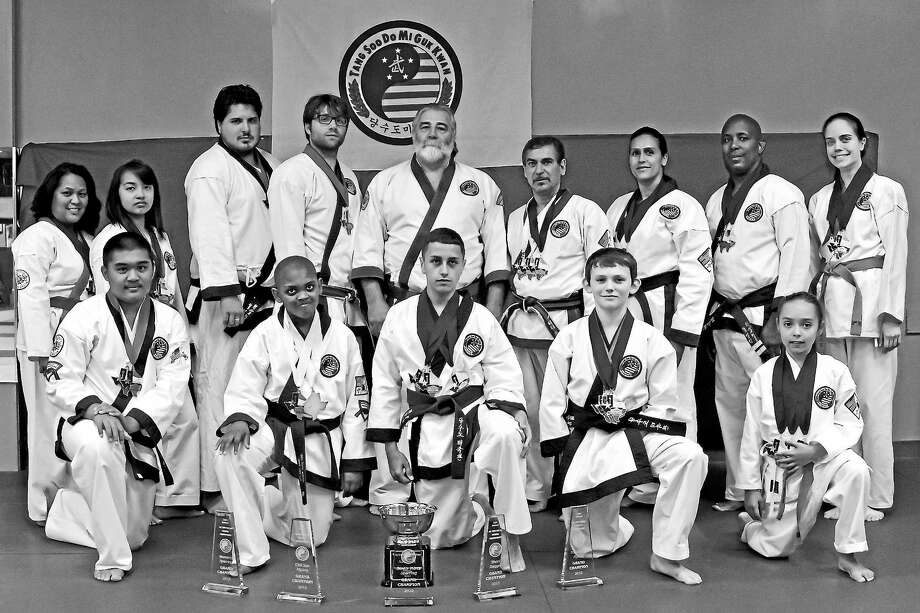 Members of The West Haven Academy of Karate combined to win 24 gold medals, 8 silver medals and 5 bronze medals at the All Tang Soo Do National Championships held in San Antonio, Texas, last month. Photo: Submitted Photo