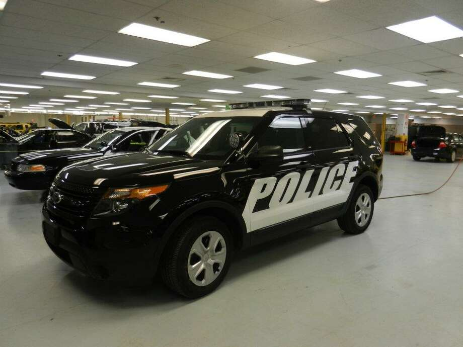 Contributed photo of demo police utility interceptor from MHQ in Middletown.