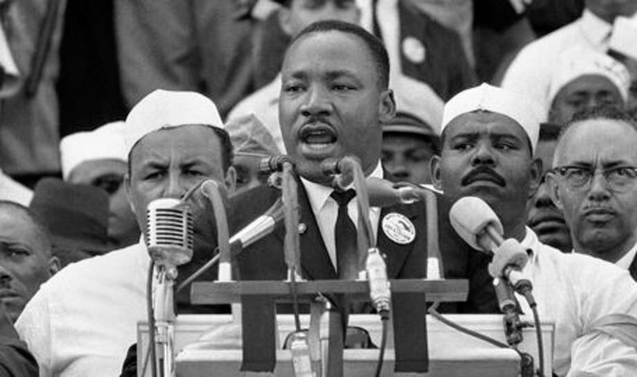 """Connecticut Gov. Dannel Malloy asks residents to ring a bell at 3 p.m. Wednesday in honor of Martin Luther King Jr.'s """"I Have a Dream"""" speech. Photo: Journal Register Co."""