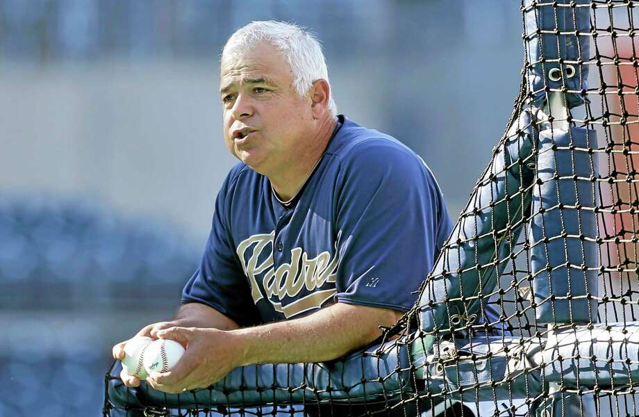 Former San Diego Padres bench coach Rick Renteria has been hired as the new manager of the Chicago Cubs. Photo: Lenny Ignelzi — The Associated Press   / AP