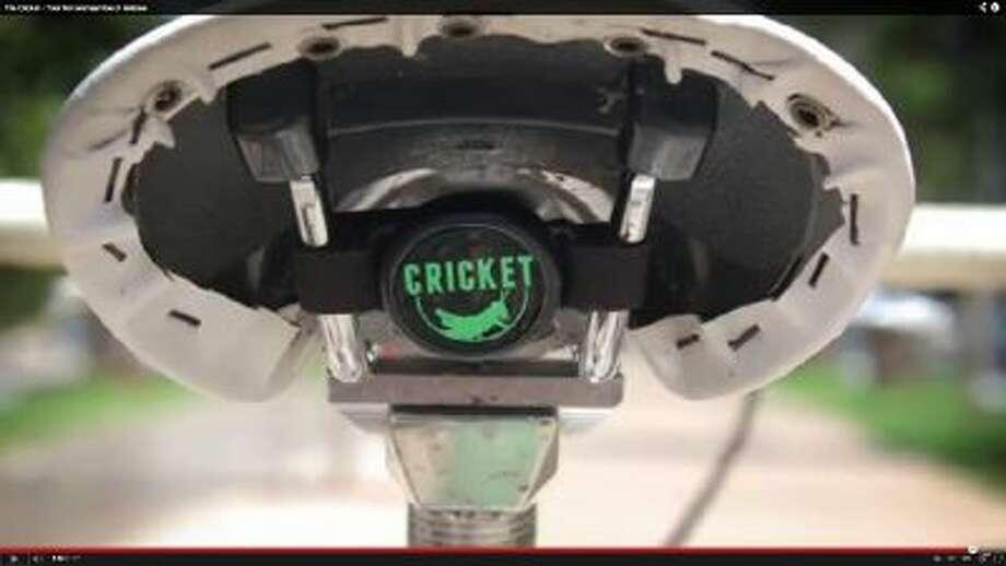 The Cricket smart bike alarm.