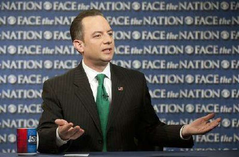 Republican National Committee Chairman Reince Priebus says the party will spend $10 million this year to send hundreds of paid staffers into communities to talk with Hispanic, black and Asian voters. Photo: AP / CBS