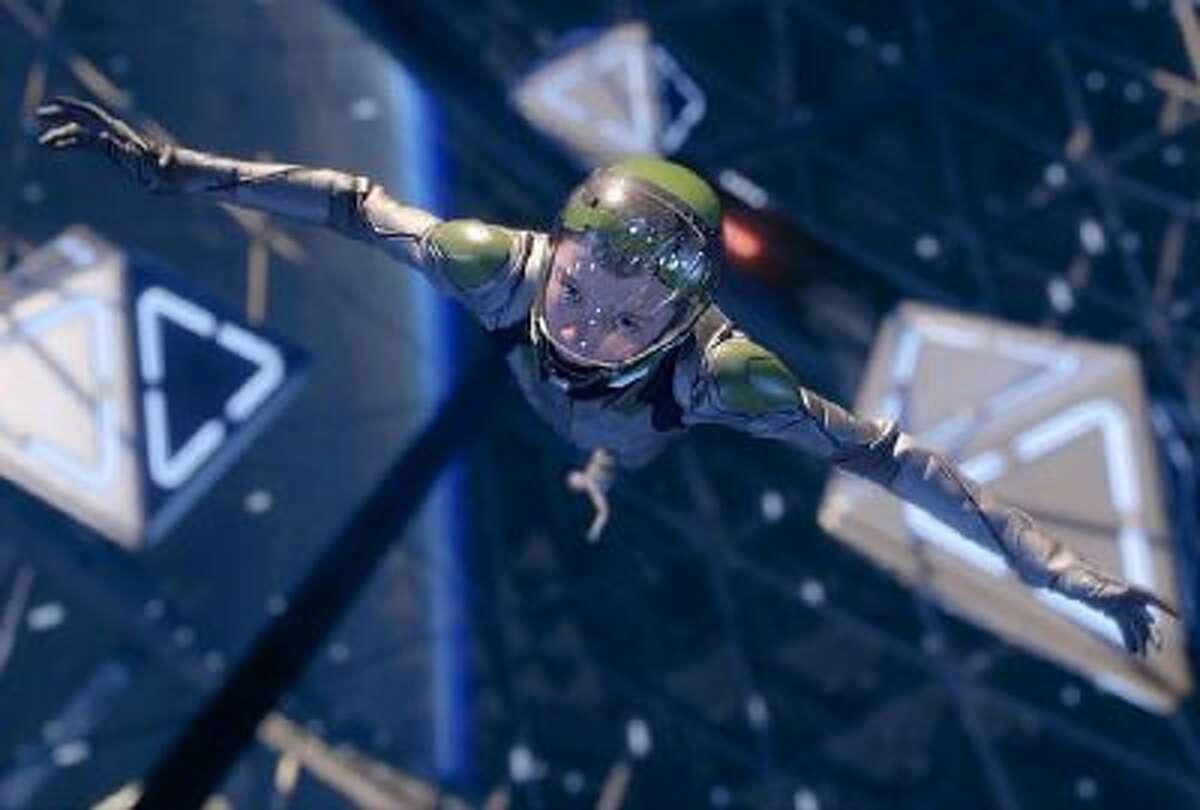 Asa Butterfield as Ender Wiggin in 'Ender's Game.'