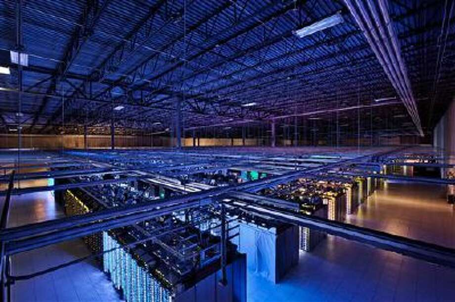 This file photo by Google shows a Google data center in Hamina, Finland. The Washington Post reported Wednesday that the National Security Agency has secretly broken into the main communications links that connect Yahoo and Google data centers around the world. (AP Photo/Google) Photo: ASSOCIATED PRESS / A2012