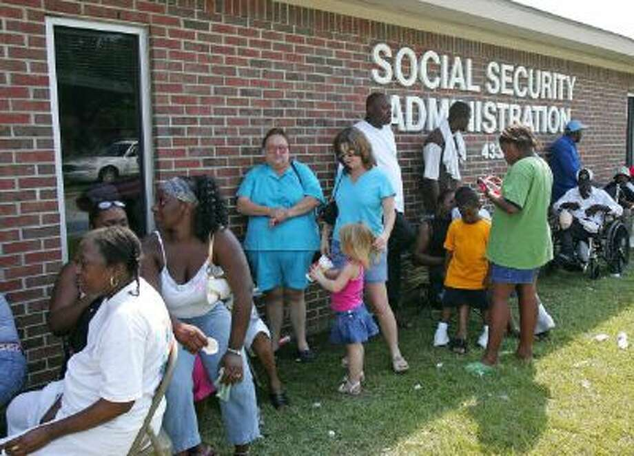 Social Security offices. Photo: AFP/Getty Images / 2005 AFP