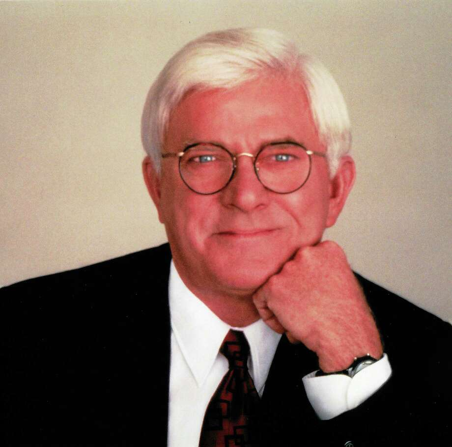 Phil Donahue Photo: Journal Register Co.