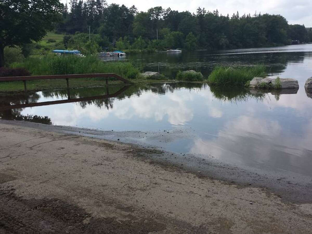 Submitted Photo Cazenovia Lake is under a state of emergency due to elevated water levels.