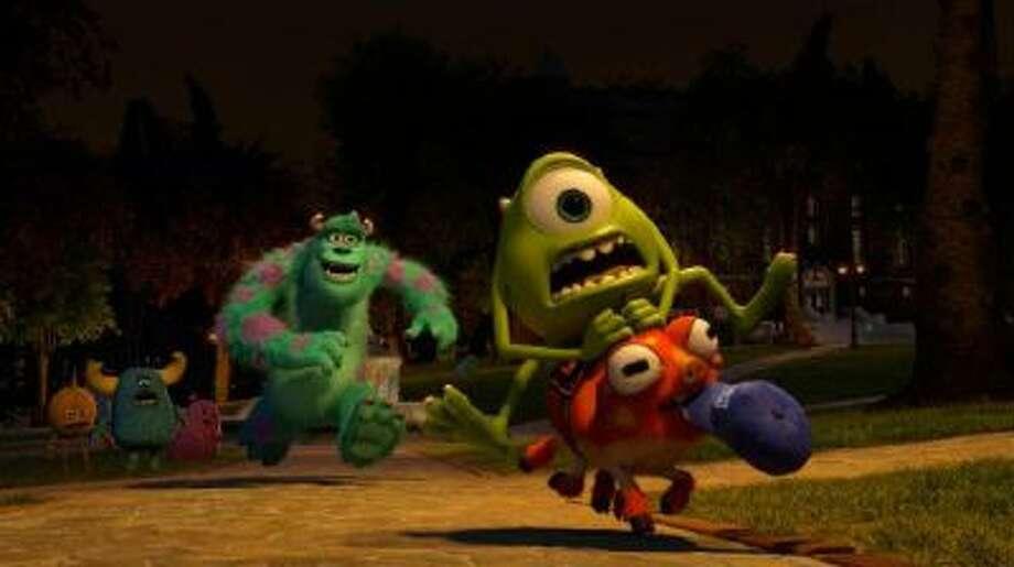 """Still from """"Monsters University"""""""