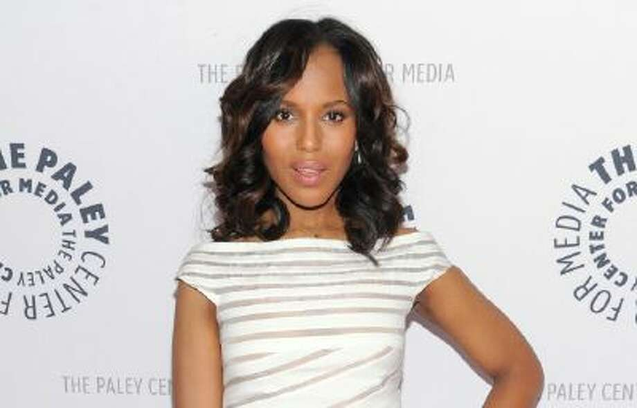 """Actress Kerry Washington attends the """"She's Making Media: Kerry Washington"""" panel discussion about her career at The Paley Center for Media on Wednesday, Oct. 2, 2013 in New York."""
