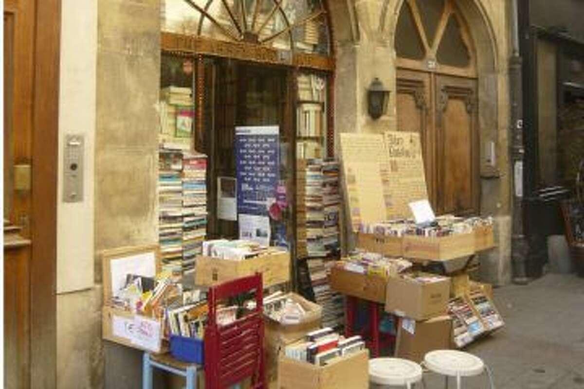 The Abbey Bookshop is one of 700 across Paris.