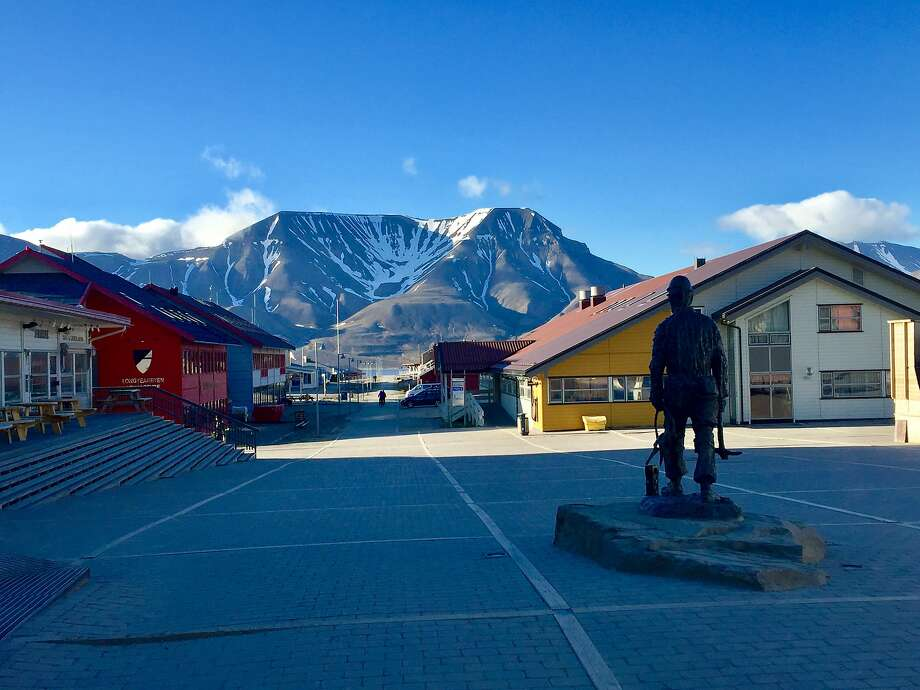 "Longyearbyen's pedestrian main thoroughfare cuts through the settlement's ""downtown."" Photo: Jill K. Robinson, Special To The Chronicle"