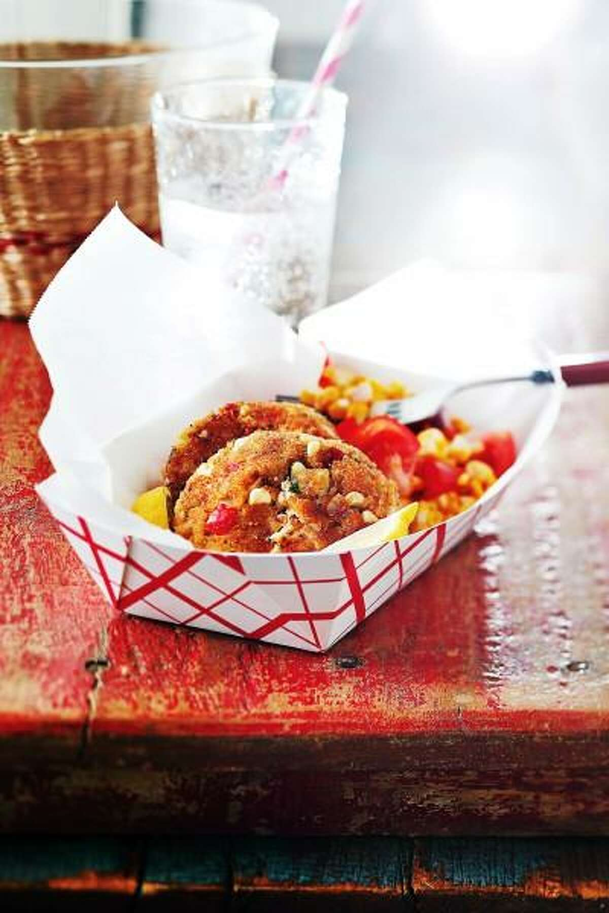Carin Krasner -- EatingWell photo: Maryland Corn and Crab Cakes