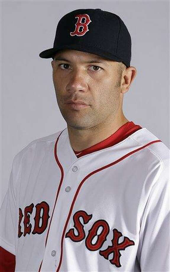Boston Red Sox's Alfredo Aceves. (AP Photo/Chris O'Meara) Photo: AP / MLBPV AP