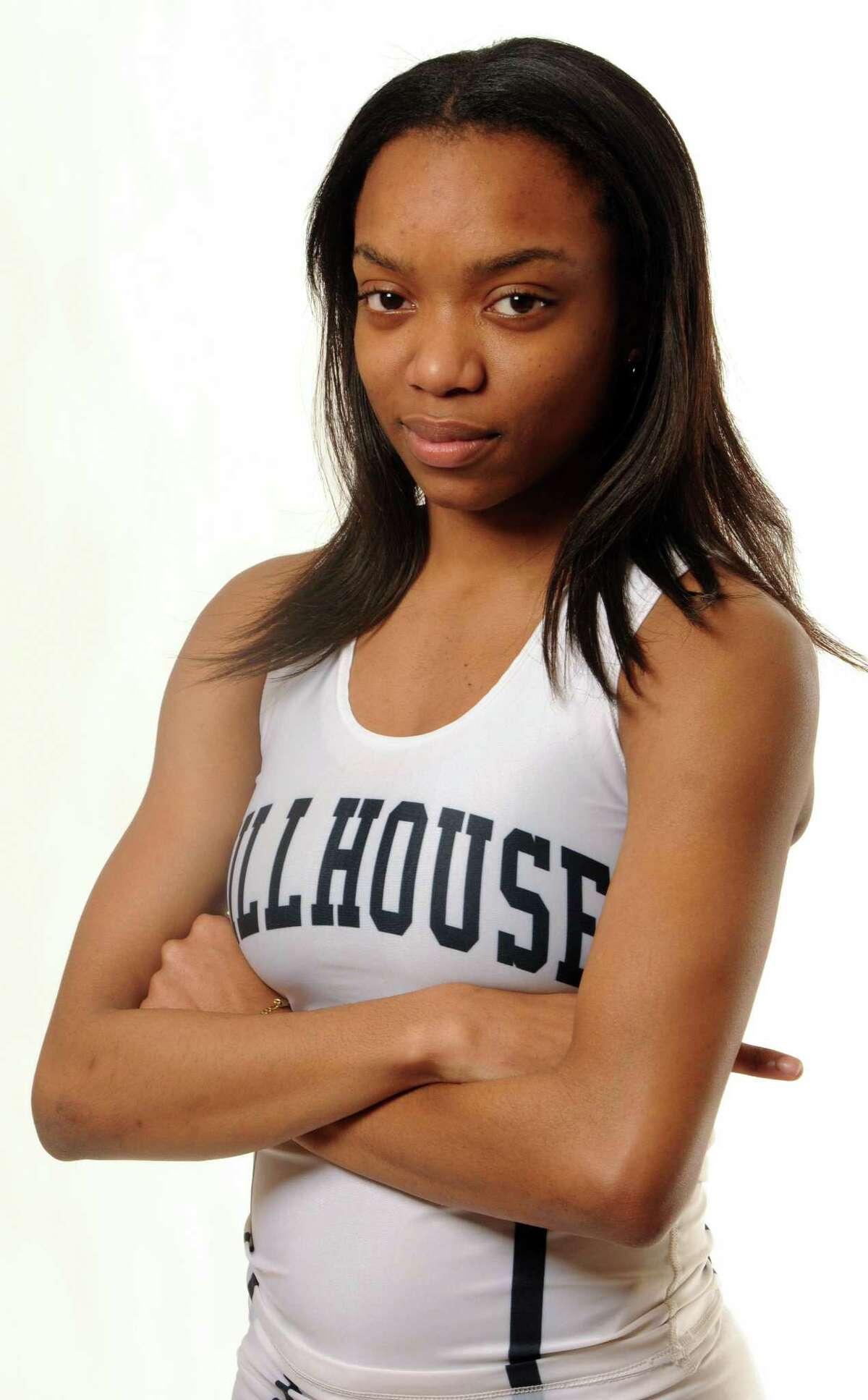 All-Area Girls Outdoor Track MVP: Kellie Davis, Hillhouse.