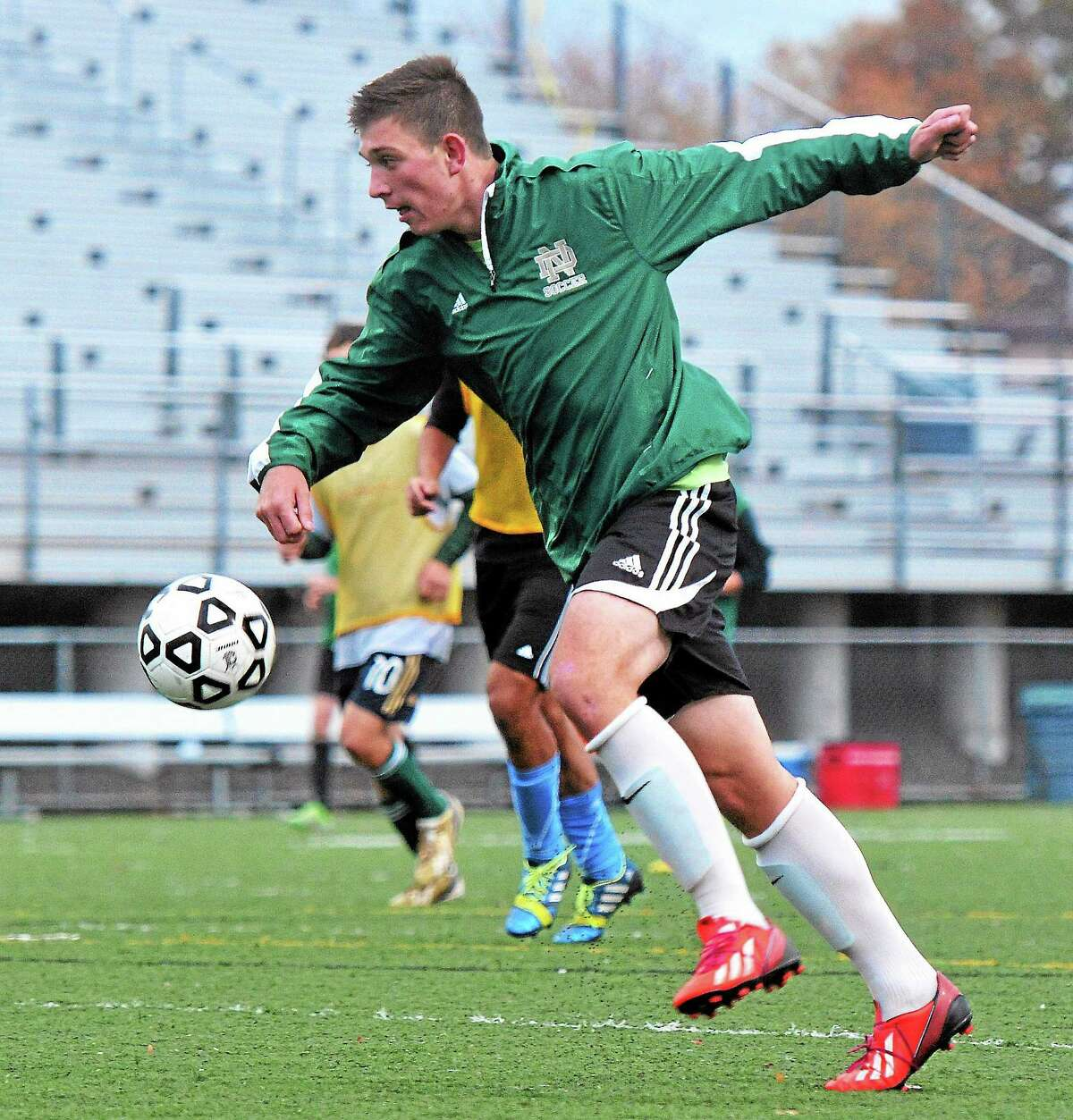 Notre Dame-West Haven sophomore Alex Mathews earned All-SCC Quinnipiac Division honors this season.