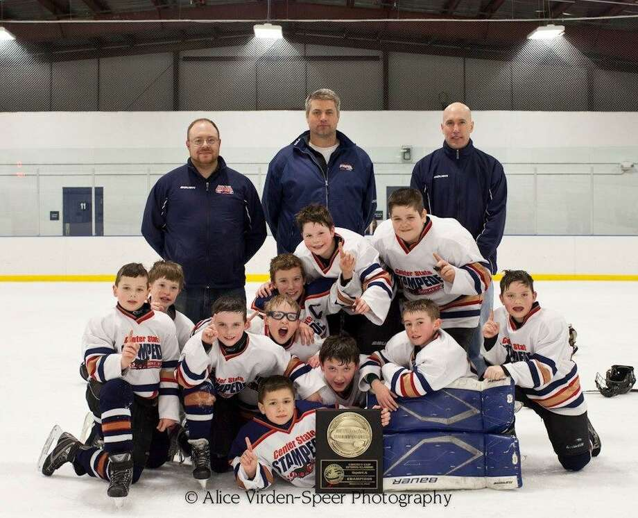 SUBMITTED PHOTO/ALICE VIRDEN-SPEER PHOTOGRAPHY Goalie: Andrew Rodriguez, Sherburne.Second row, from left: Michael Avgenikos, Morrisville; Jacob Ives, Erieville; Brad Holcomb, Hamilton; Cooper Mottl, Norwich; Gannon Houghton, Cazenovia; Jon Speer, Hamilton; Ian Skinner; Hamilton. Third row, from left: Curtis Hale, Hamilton; Andrew Parkhurst, Morrisville; Braydon DiSalvo, Oneida; Fourth row, from left: Assistant coach Matt DiSalvo, head coach Doug Speer, assistant coach Rod Ives.