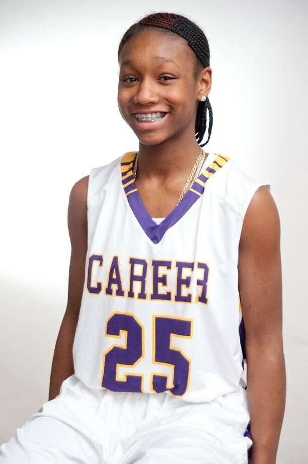 Alyssa Alston, Career basketball, the female Register Athlete of the Week. (VM Williams/Register)