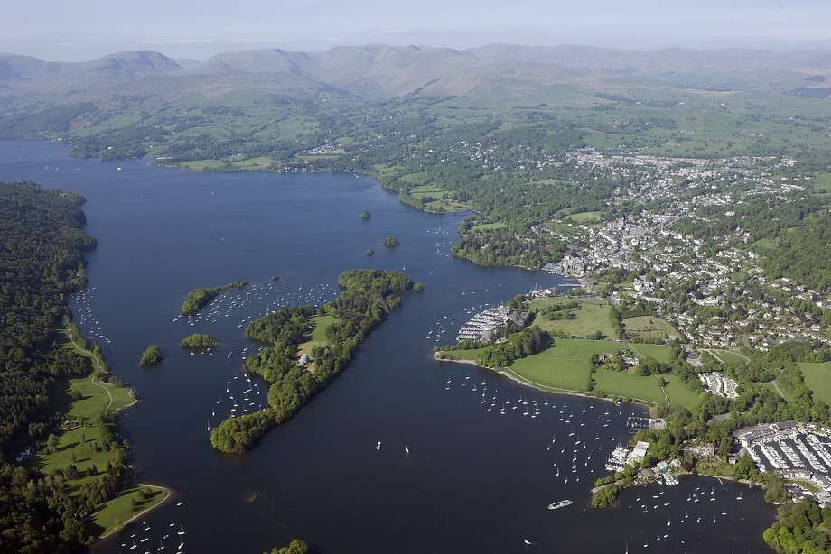Lake Windermere is England's largest lake, with numerous cruises departing from Bowness- on- Windermere. Photo: Historic England, The Historic England Archive