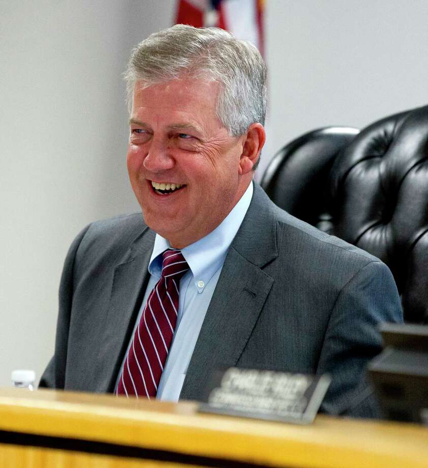 Montgomery County Judge Craig Doyal along with commissioners are working to reduce the county's budget for 2018. Photo: Jason Fochtman, Staff Photographer / © 2017 Houston Chronicle