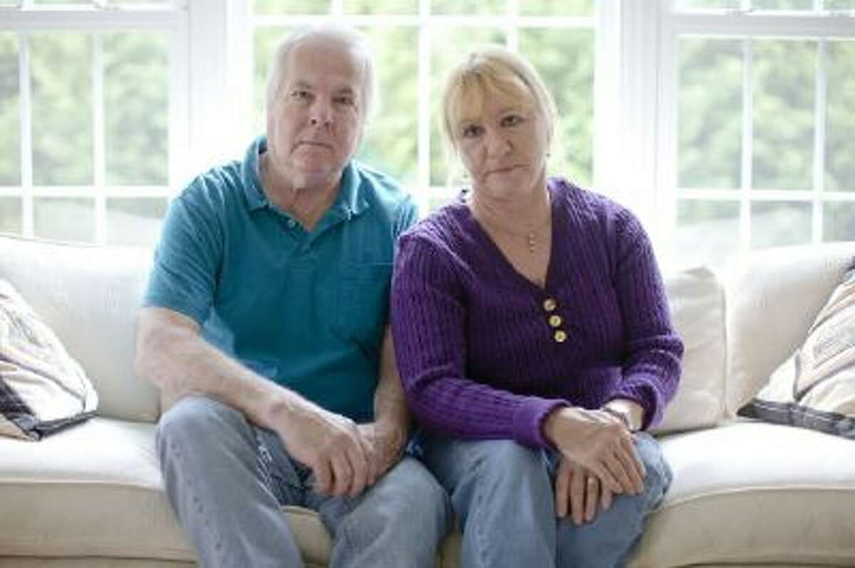 Dean and Mary Lou Griffin sit their home in Chadds Ford, Pa. on Friday, Nov. 1, 2013.