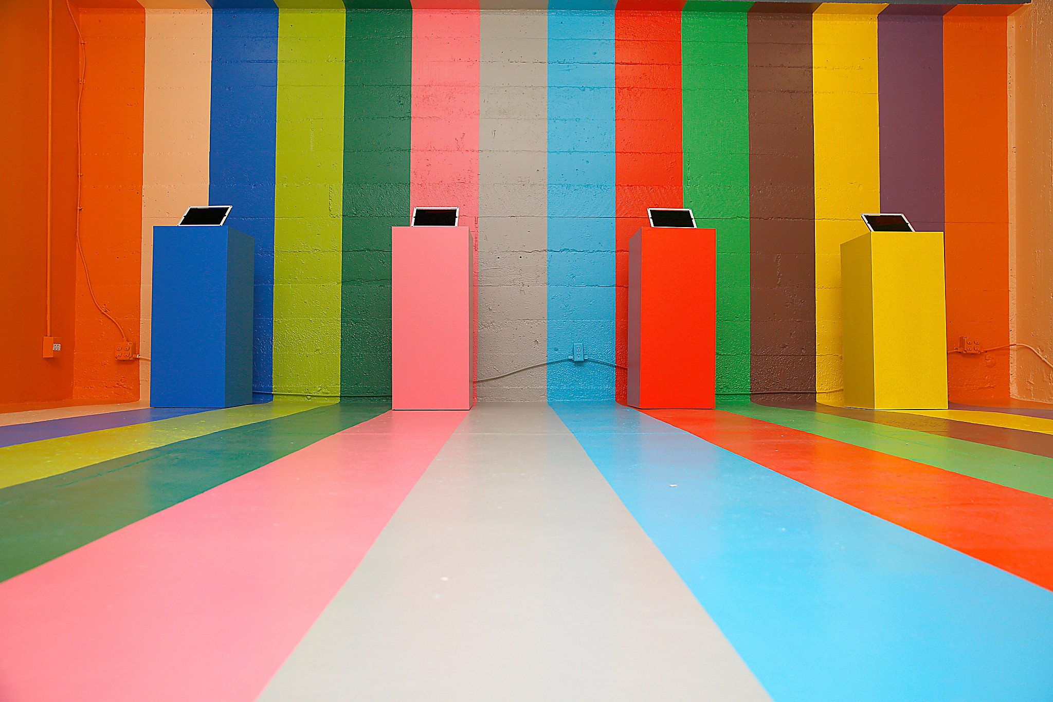 Color factory pop up offers a rainbow of activities san for San francisco color factory