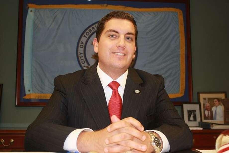 Torrington Mayor Ryan Bingham