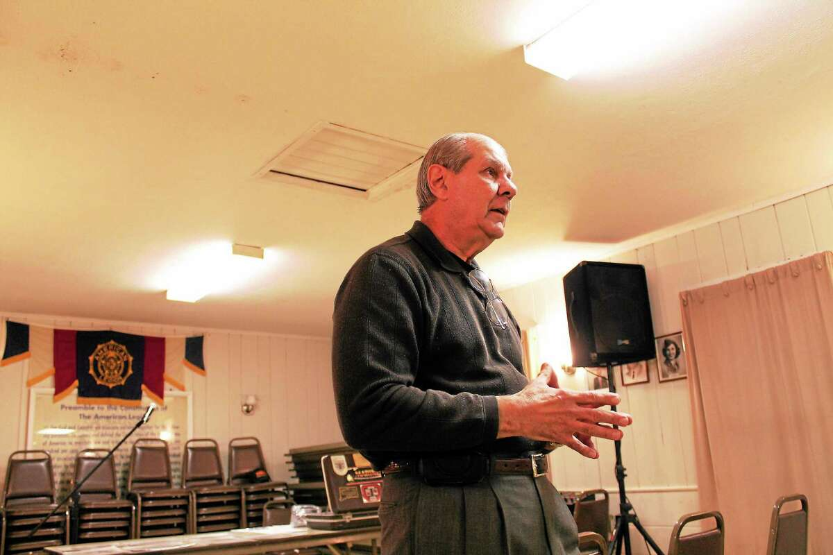 Angelo Appi Sr., a retired New Haven Cop, urges North Haven public schools to assign an armed officer at each school.