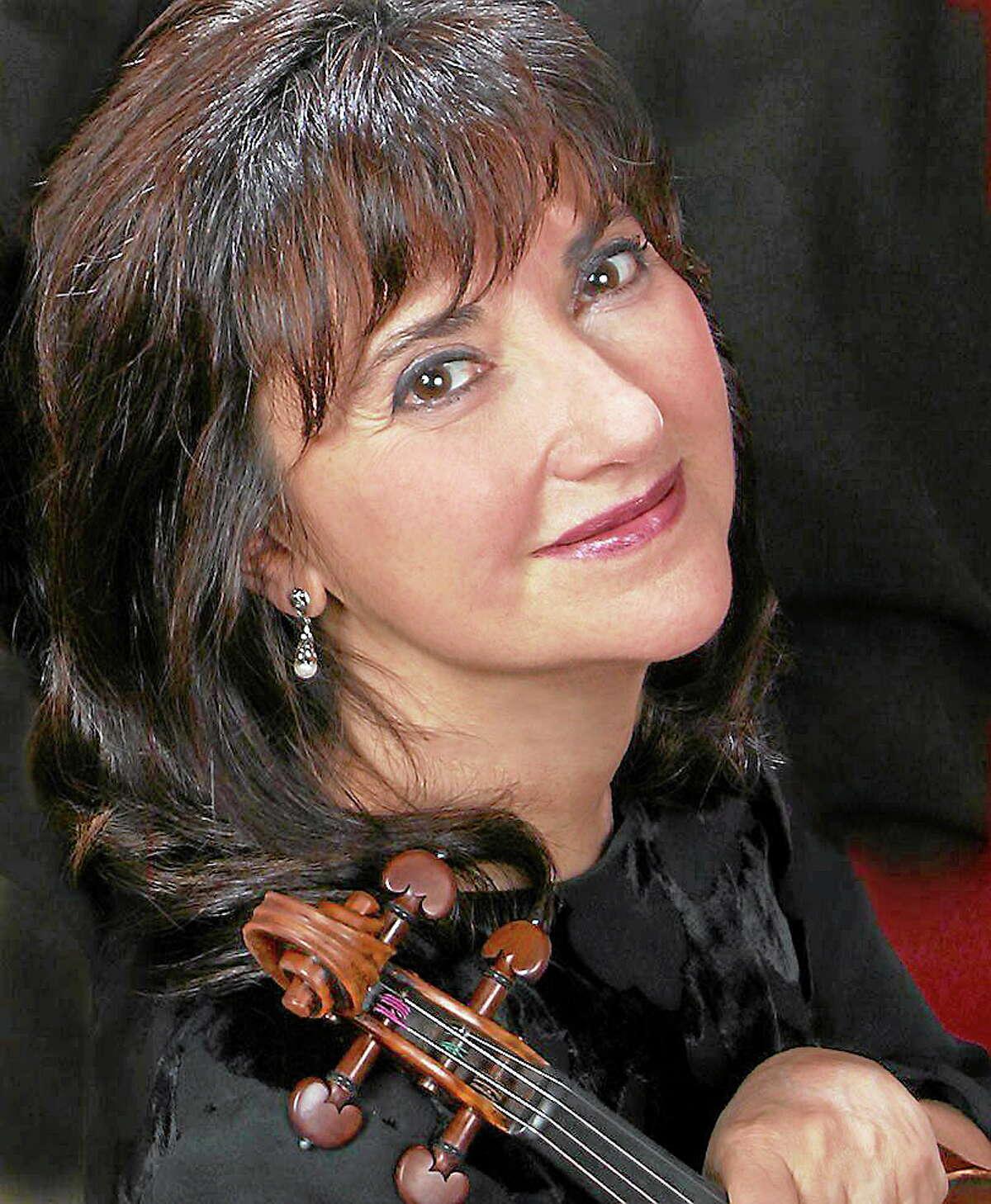 Violinist Ana Kavafian will solo.