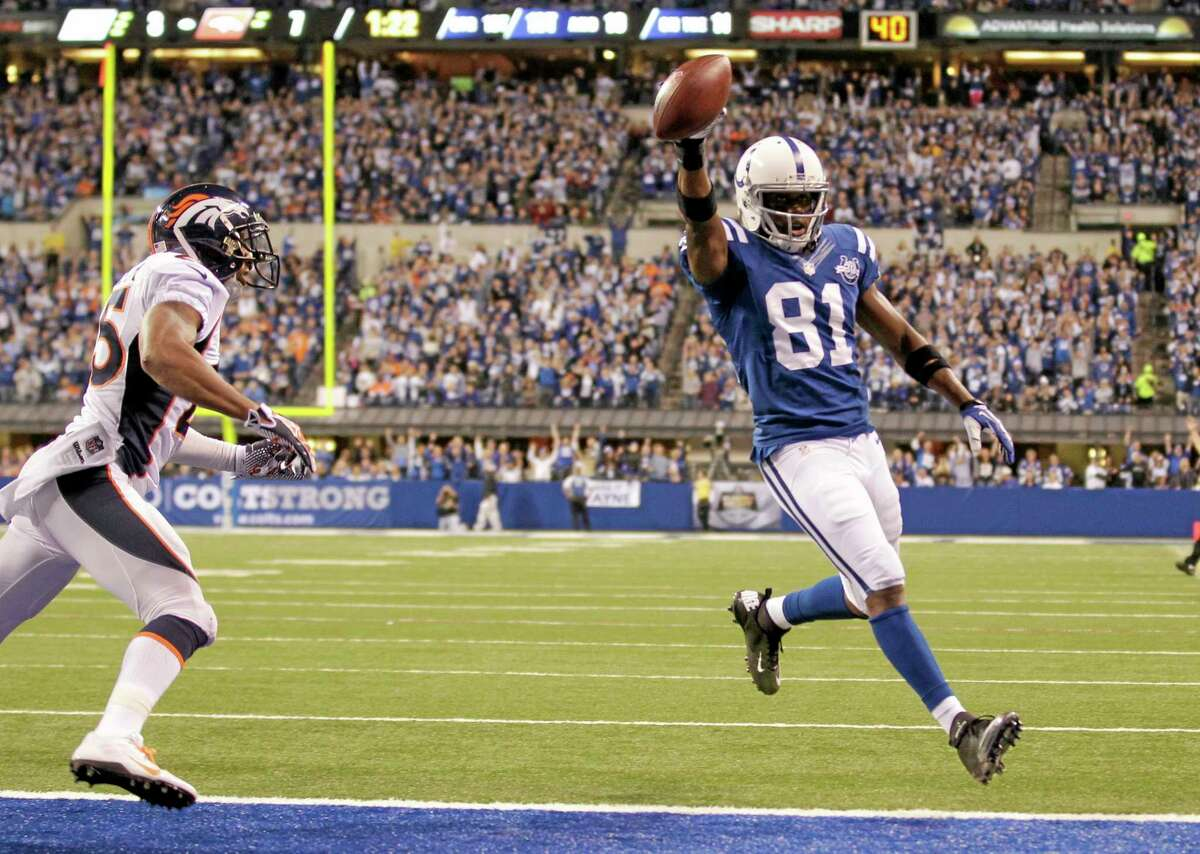 Wide receiver Darrius Heyward-Bey and the Indianapolis Colts have beat enough top teams that, despite being only 5-2, the Register's Mike Wollschlager believes they deserve to be the No. 1 team in the Week 8 Register NFL Rankings.