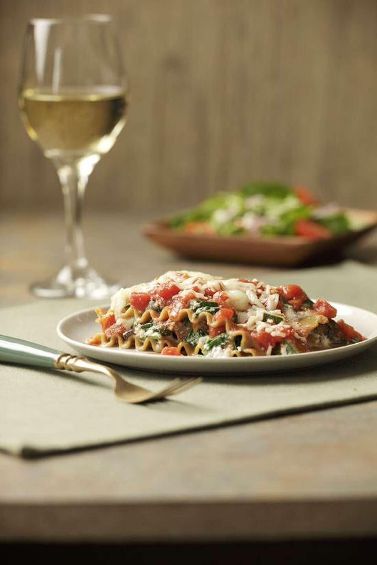 Ken Burris/EatingWell photo: Slow Cooker Vegetarian Lasagna