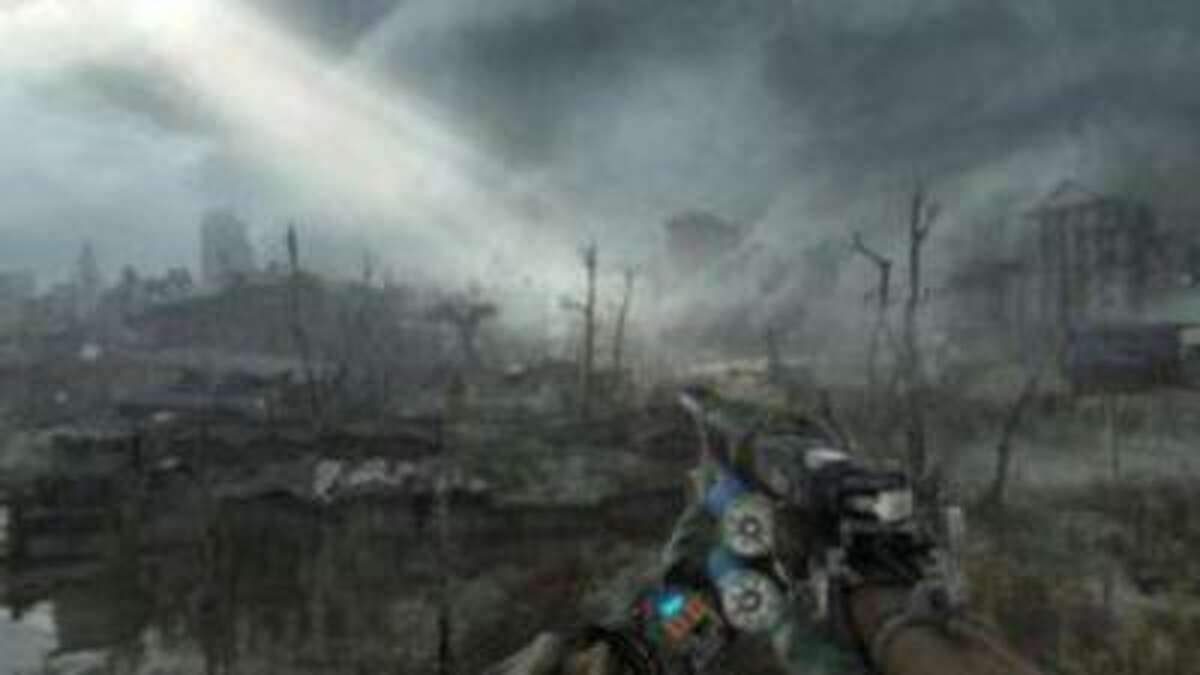 """In """"Metro Last Light,"""" players once again take on the role of Artyon who once again has to explore the ruins of a Moscow ravaged by nuclear war."""