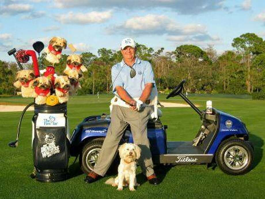 Dennis Walters spreads his inspirational message through golf after battling back to play the sport despite paraplegia and a doctor's declaration that he would never play again.