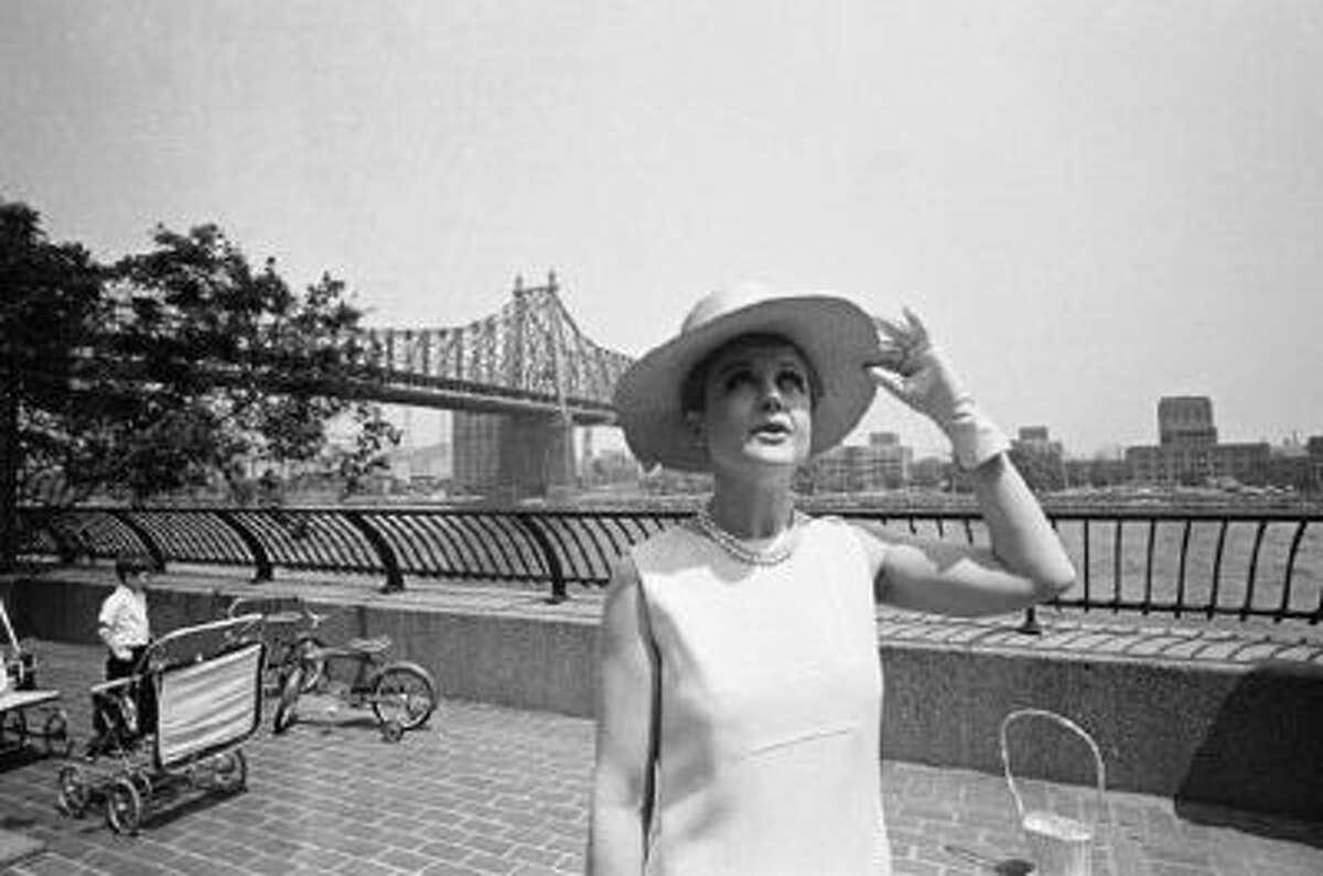 Actress Angela Lansbury in June 1966