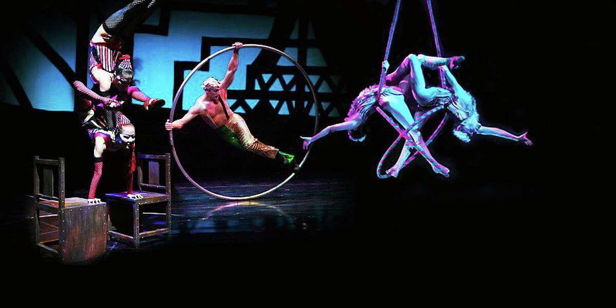 Cirque Celebration entertains at Mohegan Sun on New Year's Eve.