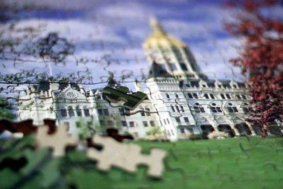 Puzzle of the state Capitol. Christine Stuart file photo