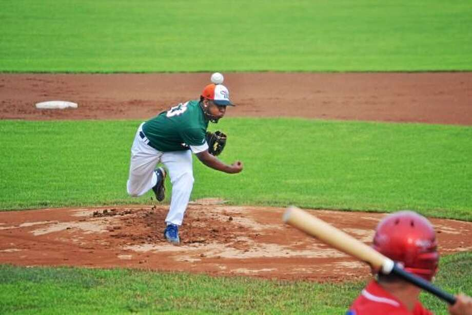 Joe Mateo went to the distance in the win, allowing only three hits, striking out eight in the 5-1 win over the Thomaston Threshers. Pete Paguaga--Register Citizen