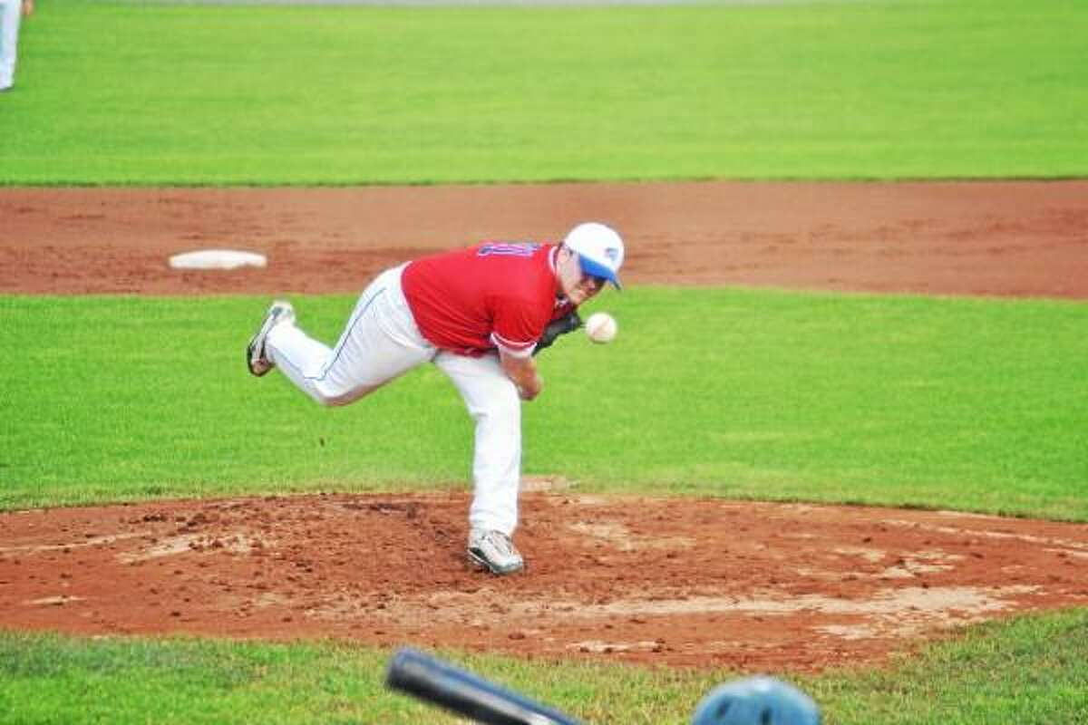Matt Wierzbricki went five innings, gave up two earned runs on three hits, while striking out five batters. Pete Paguaga--Register Citizen