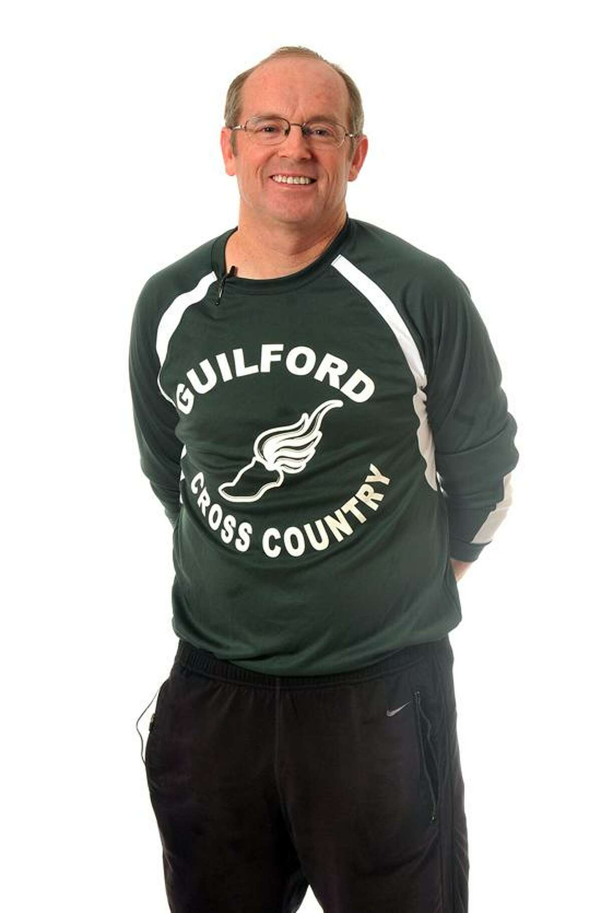 New Haven--Jim Ford, Coach Guilford High. Photo-Peter Casolino 12/04/2012