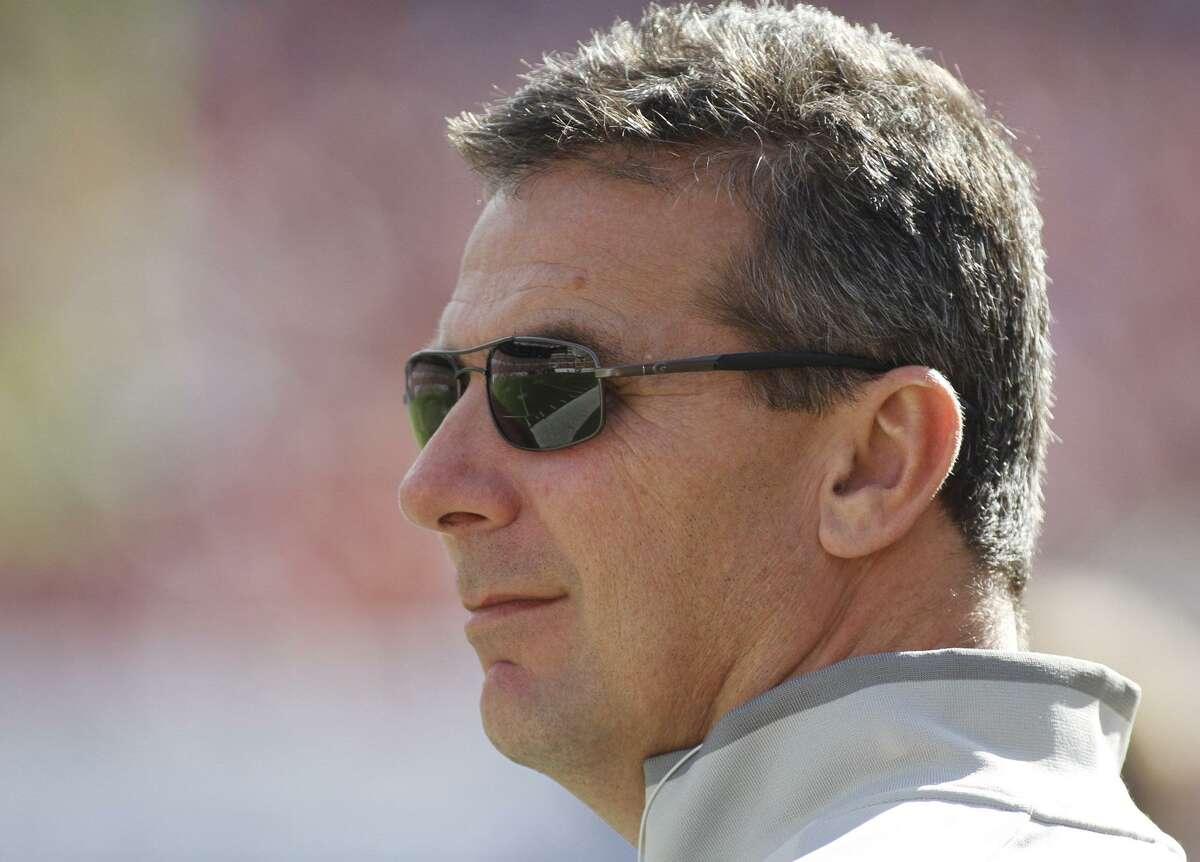 Former Florida football coach Urban Meyer. (AP Photo/Reinhold Matay)