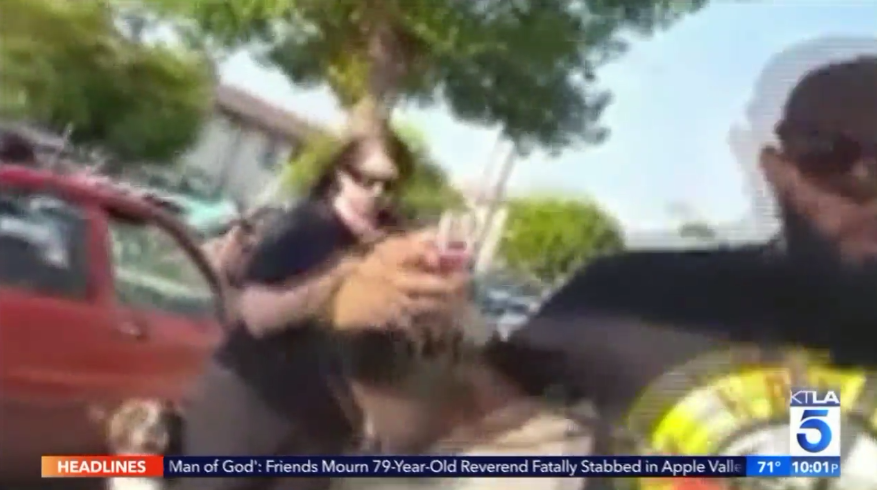 Man Caught On Camera Flipping Mexican Food Vendor S Cart